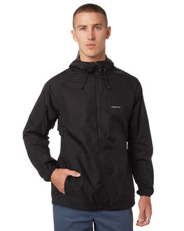 BLACK MENS CLOTHING VOLCOM JACKETS - A1511906BLK