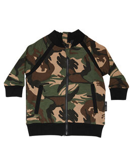 CAMO KIDS BOYS LIL MR JUMPERS + JACKETS - LM-CONVCAM
