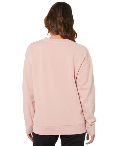 PINK WOMENS CLOTHING SILENT THEORY HOODIES + SWEATS - 6063056PNK