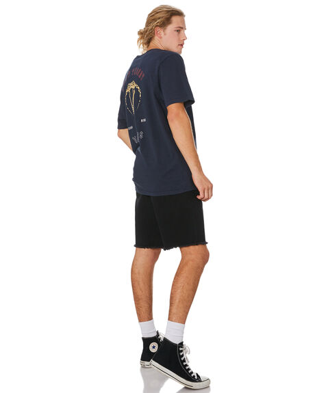 NAVY MENS CLOTHING SILENT THEORY TEES - 4044070NAVY