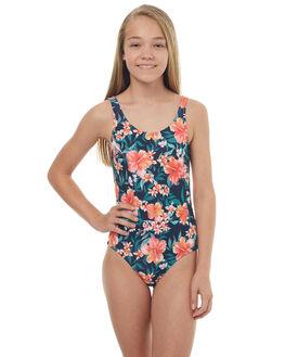 BLUE ISLAND TROPIC KIDS GIRLS ROXY SWIMWEAR - ERGX103024XBBR