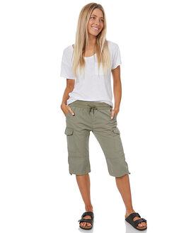 KHAKI WOMENS CLOTHING SWELL SHORTS - S8172231KHAK