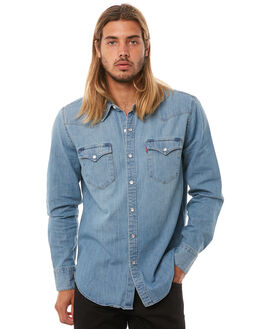 RED CAST STONE MENS CLOTHING LEVI'S SHIRTS - 65816-0116RCST