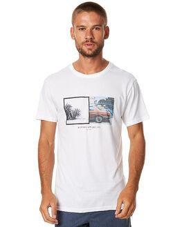 WHITE MENS CLOTHING RHYTHM TEES - APR17-TS06WHT