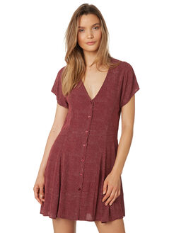BORDEAUX WOMENS CLOTHING ROLLAS DRESSES - 12950-2699