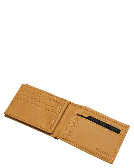 BROWN MENS ACCESSORIES RIP CURL WALLETS - BWUOH10009