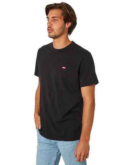 BLACK MENS CLOTHING LEVI'S TEES - 56605-0009