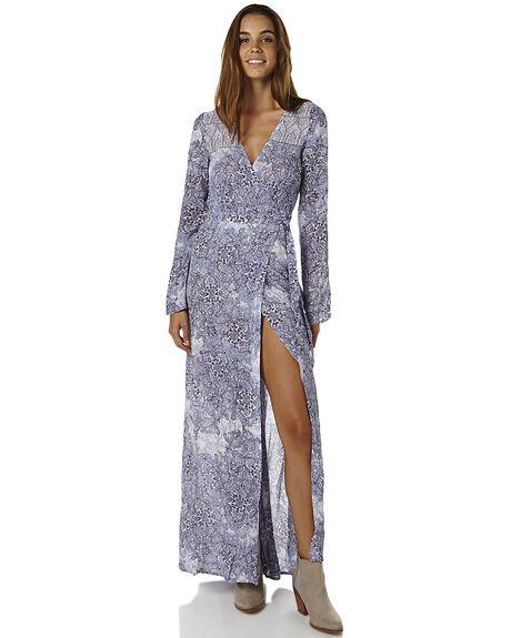 BLUE STONE WOMENS CLOTHING TIGERLILY DRESSES - T365426BLSTN