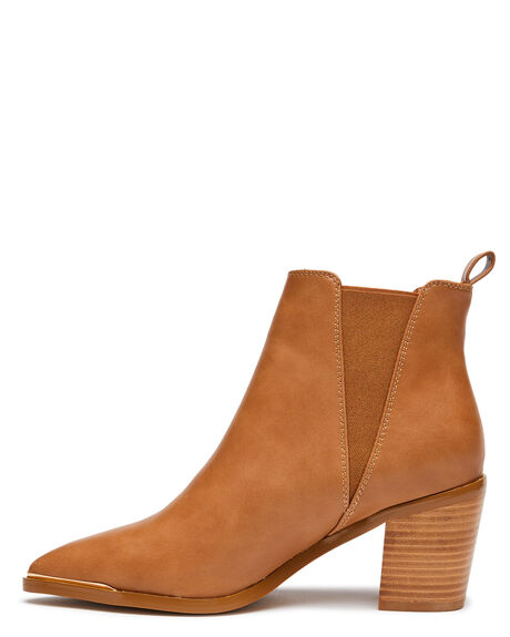 DARK CAMEL WOMENS FOOTWEAR BILLINI BOOTS - B1003DCAM