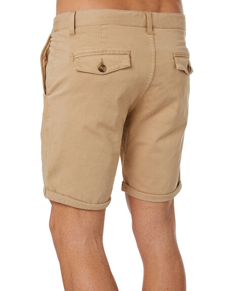 COFFEE MENS CLOTHING ACADEMY BRAND SHORTS - 20S608COF