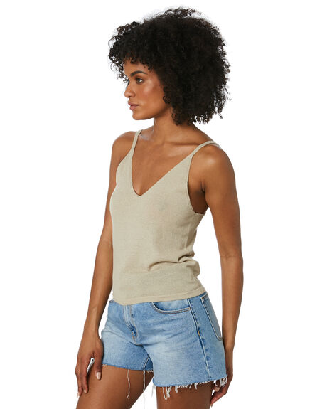 SANDSHELL WOMENS CLOTHING THE HIDDEN WAY FASHION TOPS - H8212166SNDSH