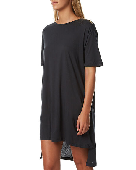 BLUE STEEL WOMENS CLOTHING THE BARE ROAD DRESSES - 790341-02BLUS