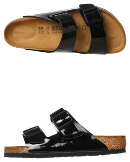 BLACK WOMENS FOOTWEAR BIRKENSTOCK FASHION SANDALS - 1005291BLK