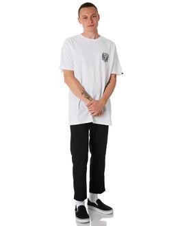 WHITE MENS CLOTHING VANS TEES - VNA3H6DWHTWHT