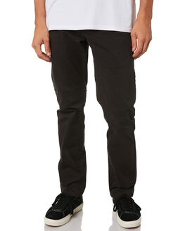 WASHED BLACK MENS CLOTHING RIP CURL PANTS - CPADF18264