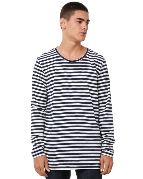 NAVY MENS CLOTHING ACADEMY BRAND TEES - 18W713NVY