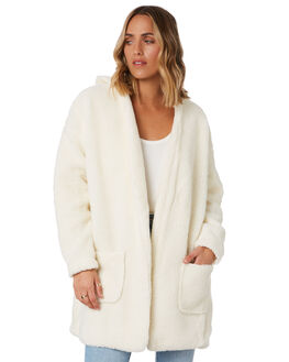 WHITE WOMENS CLOTHING TOBY HEART GINGER JACKETS - THGC724-1KWHT