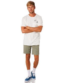 WHITE MENS CLOTHING MOLLUSK TEES - MS1755WHT