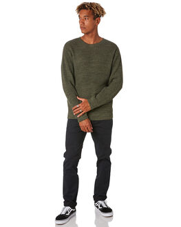 DARK OLIVE MENS CLOTHING RIP CURL KNITS + CARDIGANS - CSWEM19389