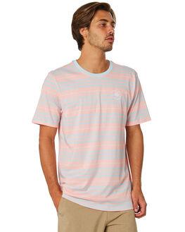 BLOSSOM MENS CLOTHING HURLEY TEES - AJW0004014