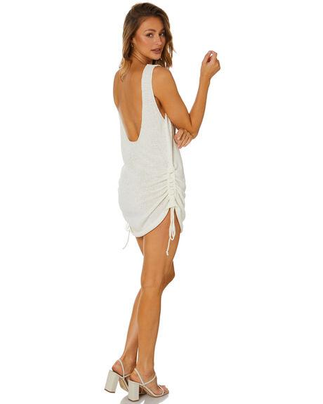 WHITE WOMENS CLOTHING SNDYS DRESSES - SFD529WHT