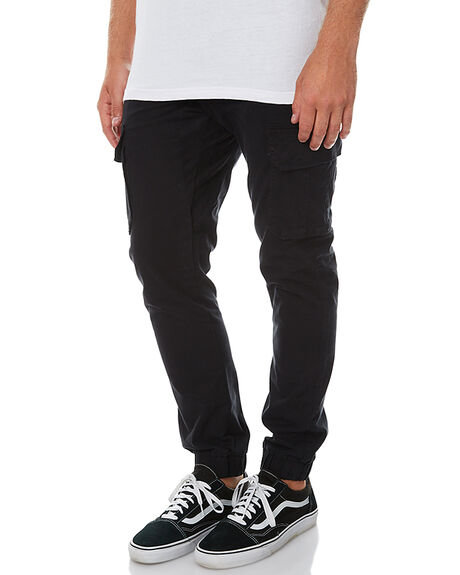 BLACK MENS CLOTHING SWELL PANTS - S5162195BLK