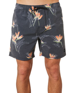 BLACK MENS CLOTHING RIP CURL BOARDSHORTS - CBOUU10090