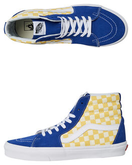 TRUE BLUE YELLOW MENS FOOTWEAR VANS SNEAKERS - VNA38GEU8IYEL