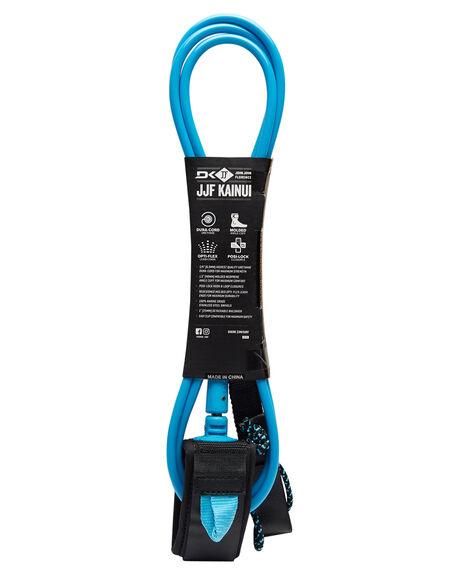 BLACK BLUE SURF HARDWARE DAKINE LEASHES - 10001794BLKBL
