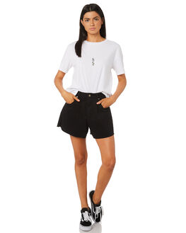 BRIGHT WHITE WOMENS CLOTHING ELEMENT TEES - 284003BHW