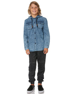 BLUE KIDS BOYS ST GOLIATH TOPS - 2432028BLU