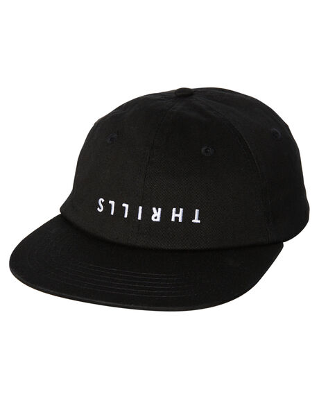 BLACK MENS ACCESSORIES THRILLS HEADWEAR - TW8-1006BBLK