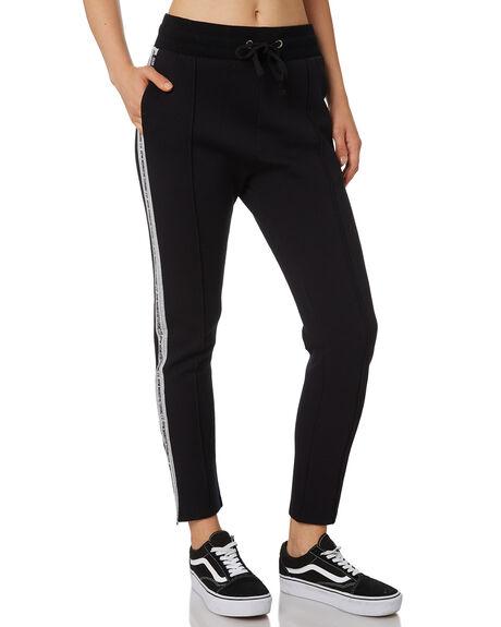 BLACK WOMENS CLOTHING RPM PANTS - 9AWB03BBLK