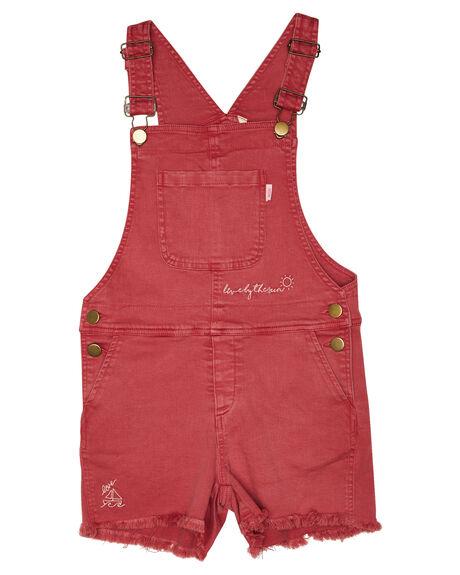 WASHED RED OUTLET KIDS MUNSTER KIDS CLOTHING - MM191JS04WSHRD