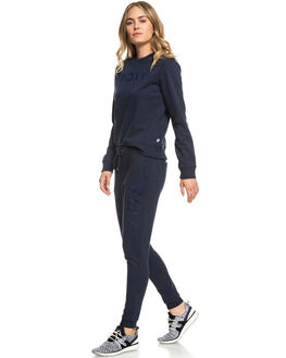 DRESS BLUES WOMENS CLOTHING ROXY PANTS - ERJFB03212-BTK0