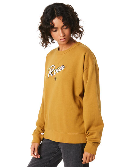 ANTIQUE BRONZE WOMENS CLOTHING RVCA JUMPERS - R293160ABRO