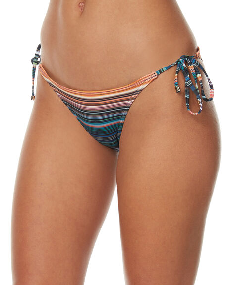 LUCENT WOMENS SWIMWEAR JETS BIKINI BOTTOMS - J3538LCNT