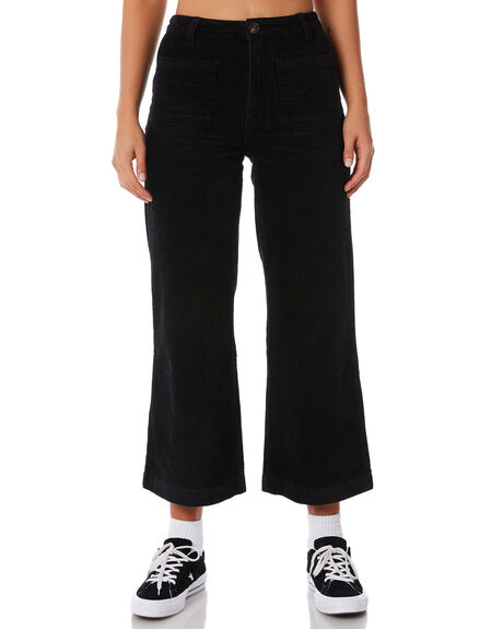 BLACK WOMENS CLOTHING ROLLAS JEANS - 12619100