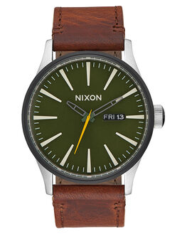 SURPLUS BROWN MENS ACCESSORIES NIXON WATCHES - A1052334