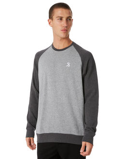 GREY MARLE OUTLET MENS SWELL JUMPERS - S5184458GRYMA