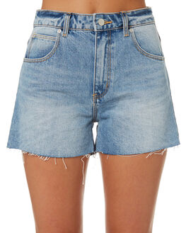 ALEXA BLUE WOMENS CLOTHING ROLLAS SHORTS - 12715-4001