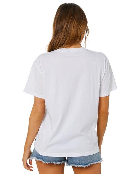 WHITE WOMENS CLOTHING RUSTY TEES - TTL1140-WHT
