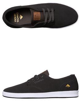 DARK GREY MENS FOOTWEAR EMERICA SKATE SHOES - 6102000089-021