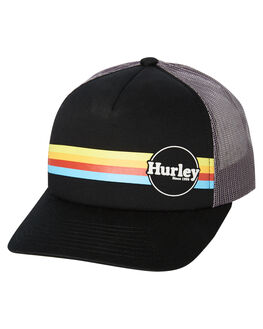 BLACK WOMENS ACCESSORIES HURLEY HEADWEAR - CI0039010