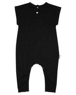 BLACK KIDS BABY TINY TRIBE CLOTHING - TTS17-6018DBLK