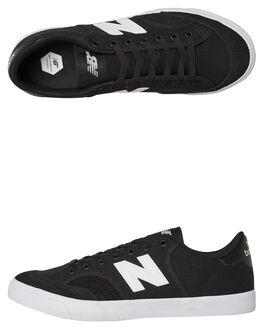 BLACK MENS FOOTWEAR NEW BALANCE SKATE SHOES - NM212OGBBLK