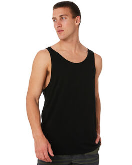 BLACK OUTLET MENS SWELL SINGLETS - S5164274BLK