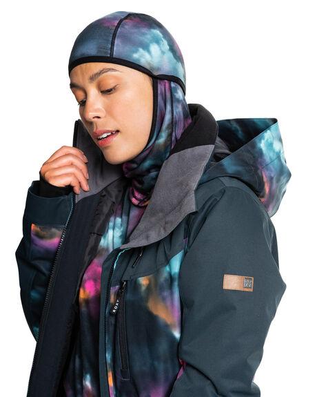 TRUE BLACK PENSINE BOARDSPORTS SNOW ROXY WOMENS - ERJAA03872-KVJ6