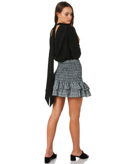 BLACK WOMENS CLOTHING MLM LABEL FASHION TOPS - MLM517BBLK
