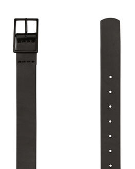 BLACK MENS ACCESSORIES STATUS ANXIETY BELTS - SA8541BLK